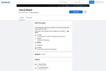 VueJS Brasil - Facebook Group [Portuguese]