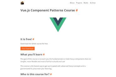 Vue.js Component Patterns Course