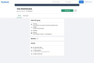 VueJS DOM - Facebook Group