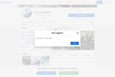 VueJS Finland - Facebook Page