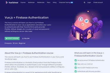 Vue.js Firebase Authentication