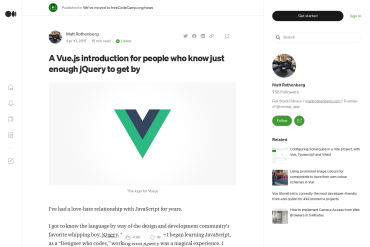 Vue.js Introduction For People Who Know Just Enough JQuery To Get By