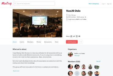 VueJS Norway - Meetup