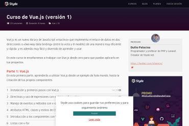 Vue.js Screencast Series In Spanish