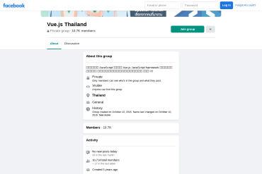 VueJS Thailand - Facebook Group