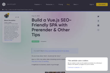 Vue.js Tutorial: A Prerendered, SEO-Friendly Example