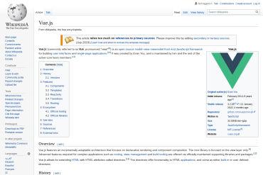 Vue.js Wikipedia
