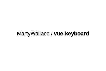 Vue-keyboard