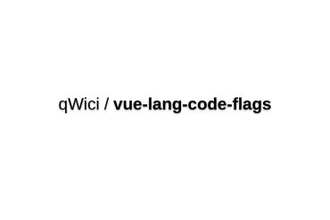 Vue-lang-code-flags