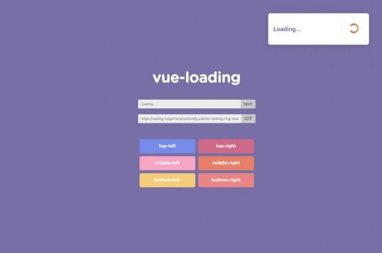 Vue Loading