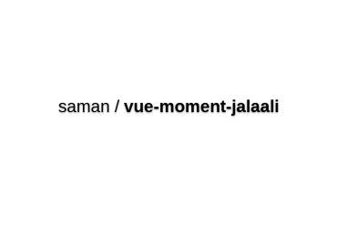 Vue-moment-jalaali