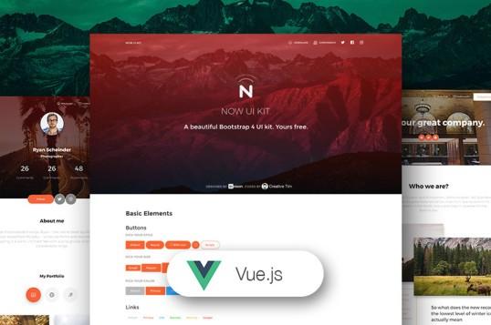 Vue Now UI Kit