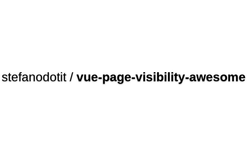 Vue-page-visibility-awesome