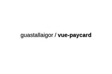 Vue-paycard