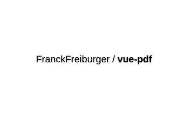 Vue-pdf