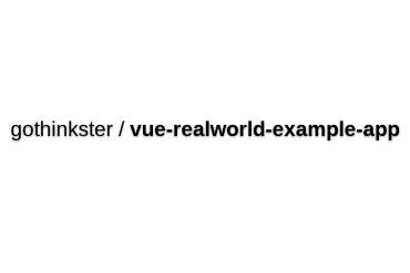 Vue-realworld-example-app