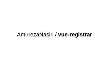 Vue-registrar