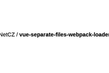 Vue-separate-files-webpack-loader
