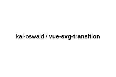Vue-svg-transition