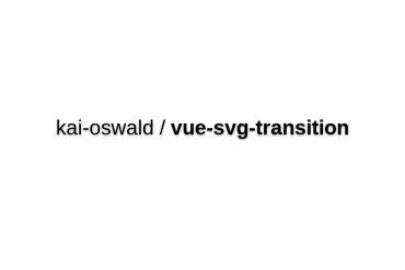 Vue-svg-transition