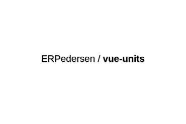 Vue-units