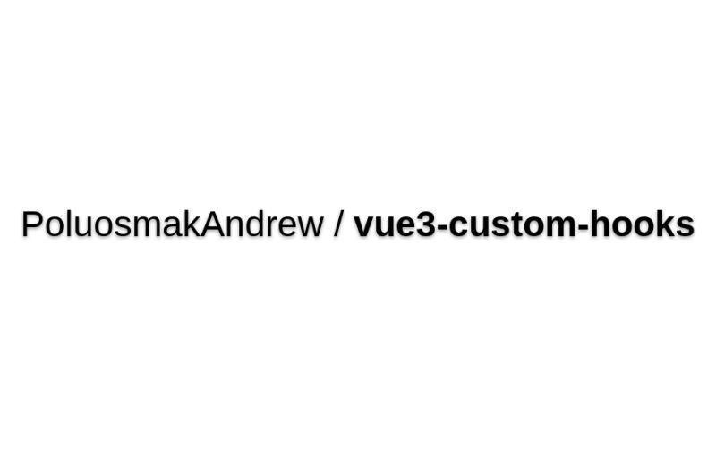 Vue3-custom-hooks
