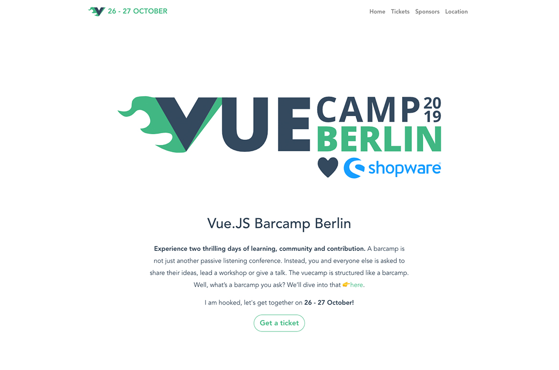 VueCamp Berlin