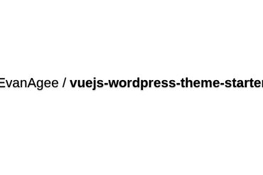 Vuejs-wordpress-theme-starter