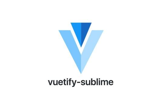 Vuetify Sublime