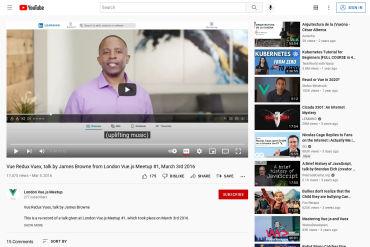 Vuex Introduction Video - James Browne From London Vue.js Meetup #1