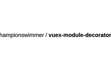 Vuex-module-decorators