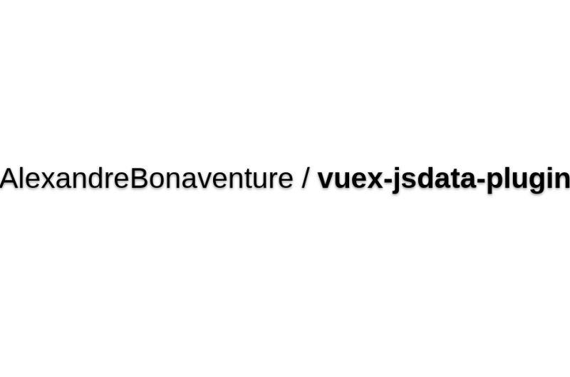 Vuex-plugin-jsdata