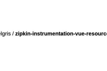 Zipkin-instrumentation-vue-resource
